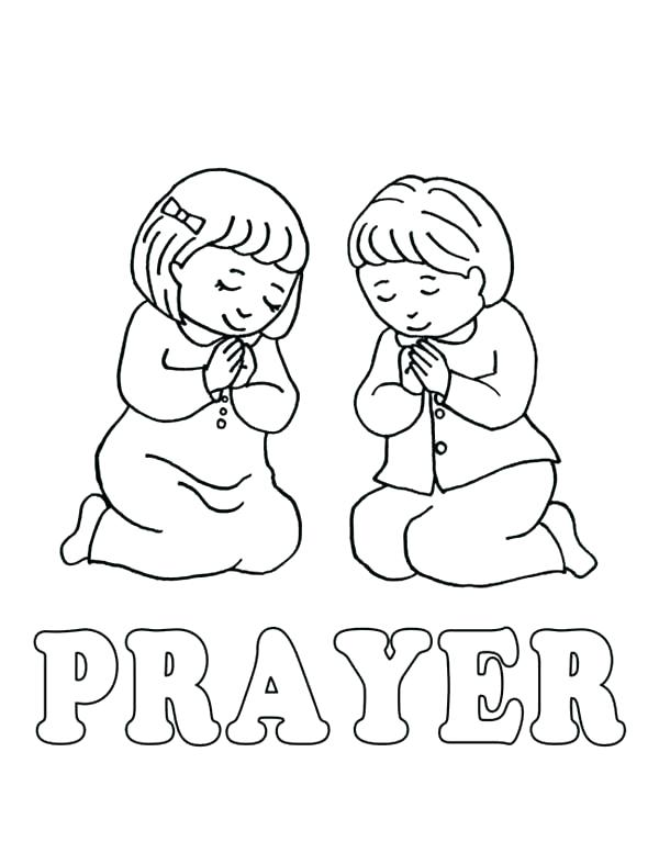 600x777 Child Coloring Pages Prayer Coloring Pages Creative Decoration