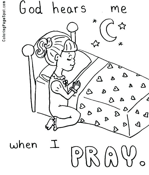 509x600 Child Praying Coloring Page Prayer Child Praying Coloring Page Lds