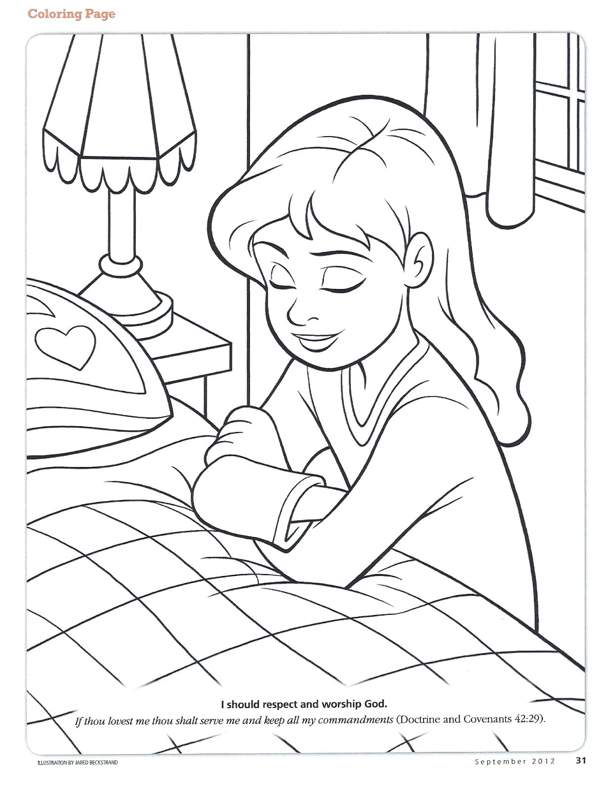 1233x1600 Endorsed Child Praying Coloring Page Lords Prayer Pages