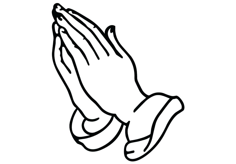 1003x700 Handprint Coloring Page Excellent Praying Hands Coloring Page