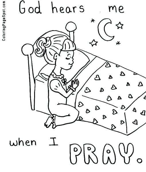 509x600 Praying Hands Coloring Page Rosary Coloring Pages The Mysteries