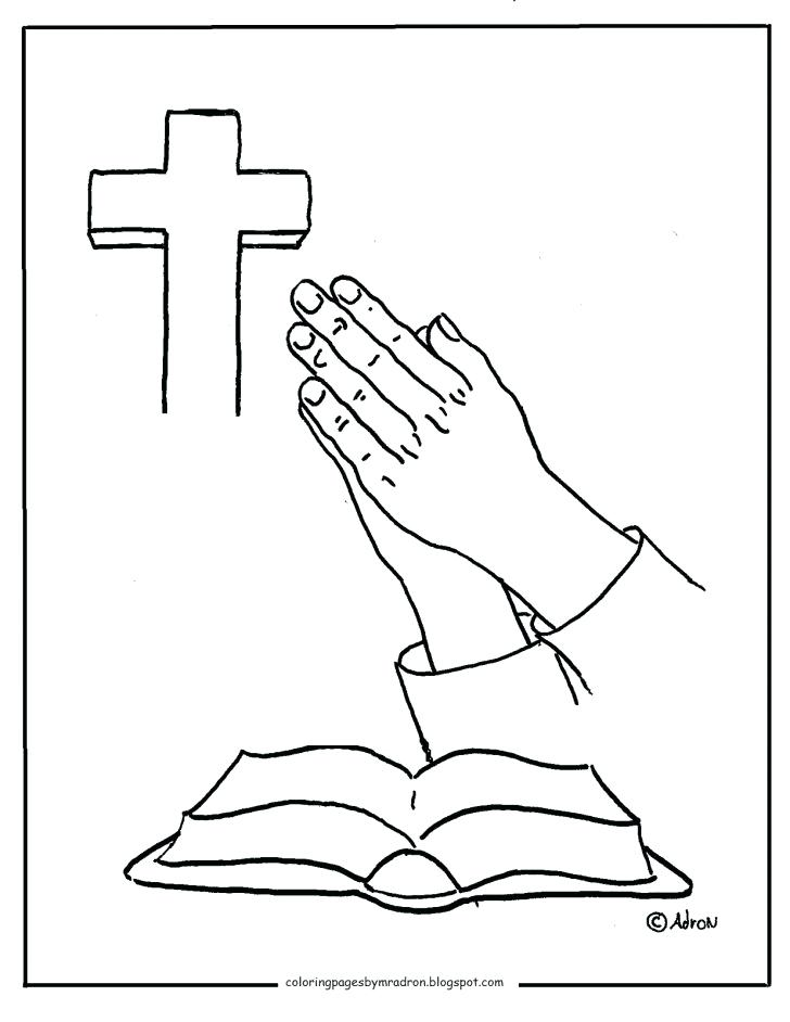 728x942 Praying Hands Coloring Page Medium Size Of Praying Hands Coloring