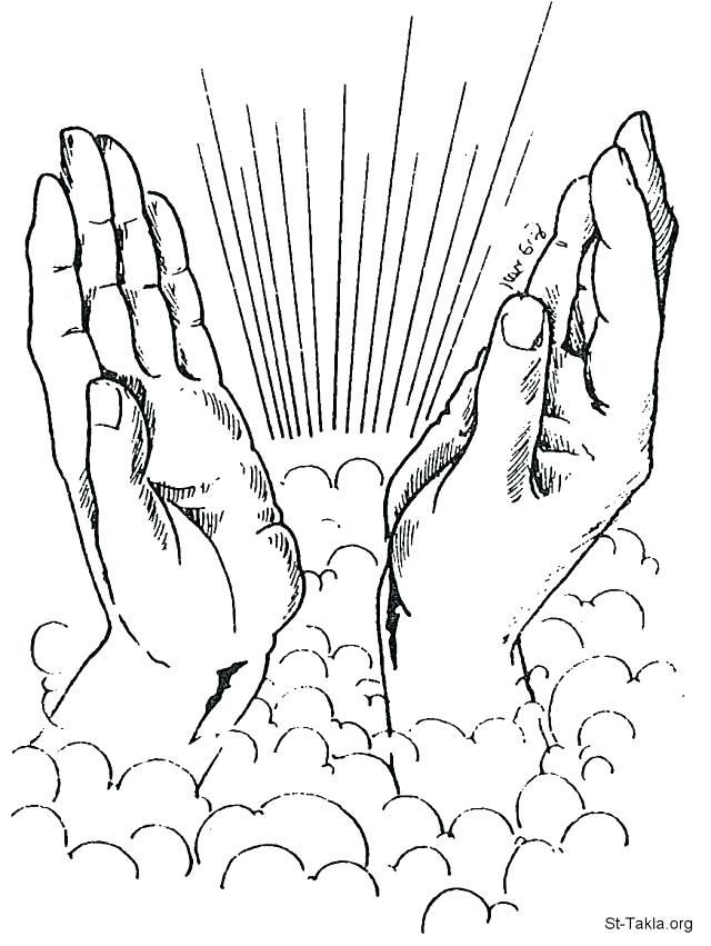 640x851 Praying Hands Coloring Page Praying Hands Coloring Page Coloring