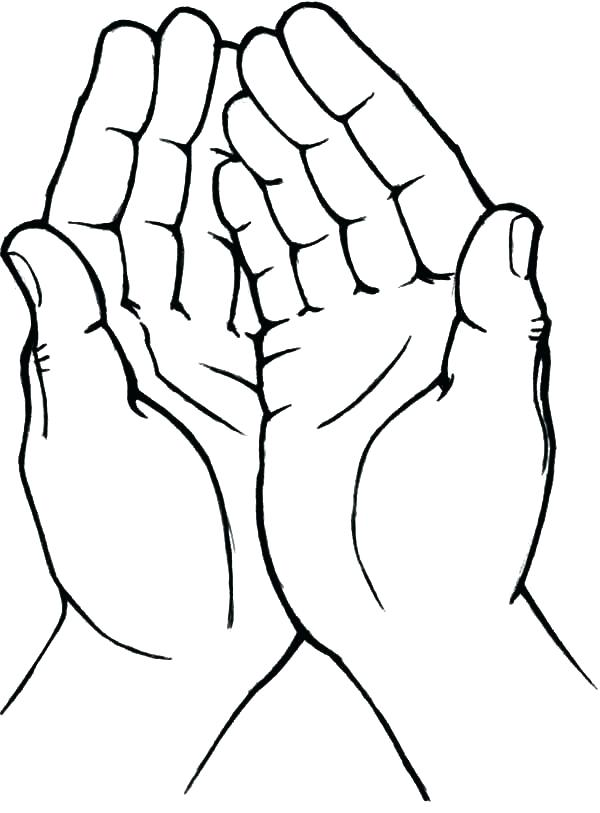 600x813 Praying Hands Coloring Page Praying Hands Coloring Page Praying