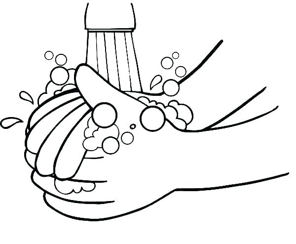 600x494 Praying Hands Coloring Page Praying Hands Coloring Page Printable