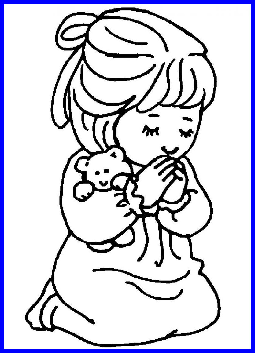 834x1156 Best Praying Hands Coloring Page Apurjacouture For Style