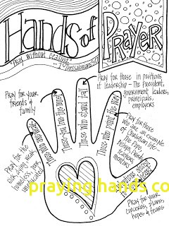 240x320 Praying Hands Coloring Page With Praying Hands Coloring Page