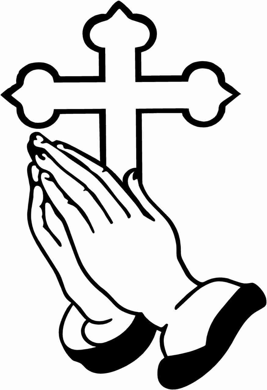 876x1280 Tremendous Praying Hands Coloring Page Pages For Kids