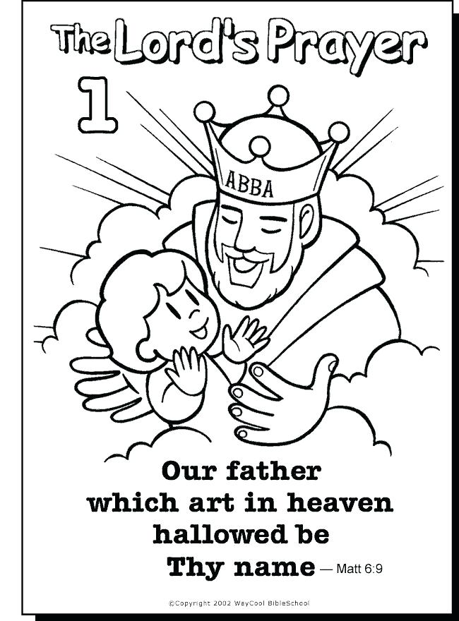 650x880 Coloring Pages On Prayer