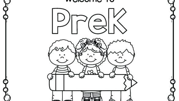 Pre K Coloring Pages at GetDrawings.com | Free for personal ...