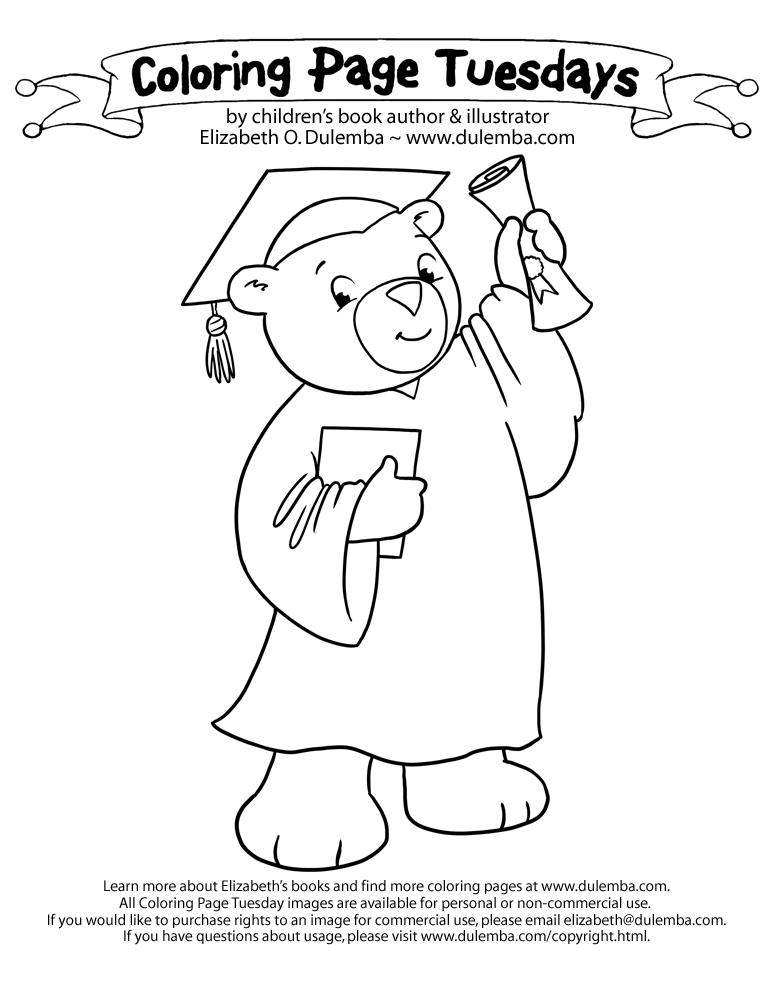 773x1000 Graduation Coloring Pages