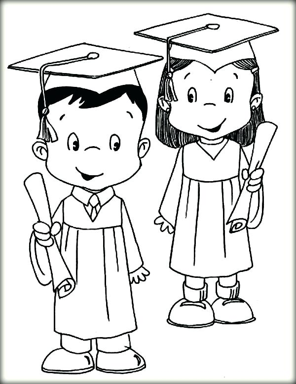 600x778 Graduation Coloring Pages Awesome Collection Of Printable