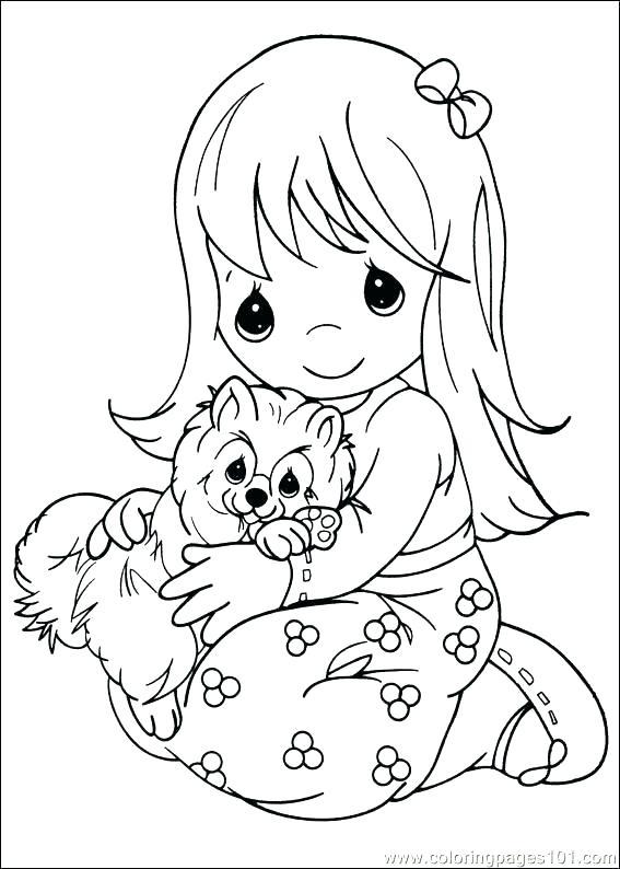 567x794 Preschool Graduation Coloring Pages Precious Moments Coloring