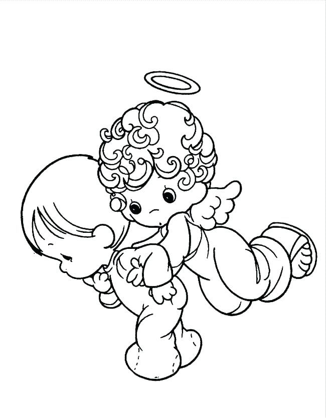 650x833 Precious Moments Baby Coloring Pages Ideas Angels Coloring Pages