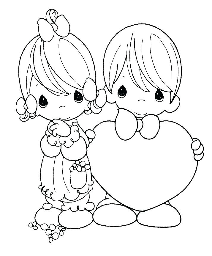 714x861 Free Precious Moments Coloring Pages Free Printable Precious