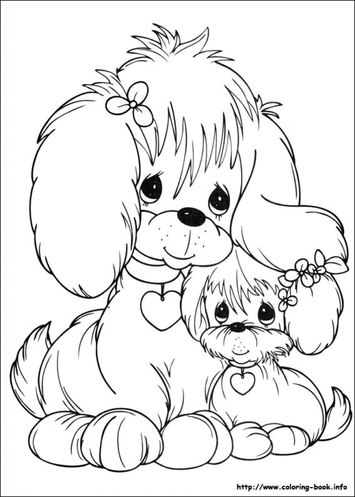 731x1024 Precious Moments Animals Coloring Pages
