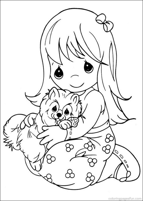 571x800 Absolutely Ideas Precious Moments Coloring Pages Animals Free