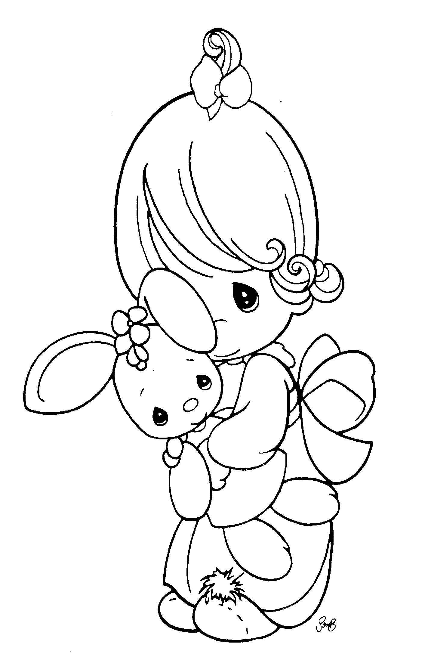 1423x2183 Precious Moments Animals Coloring Pages Arilitv Com Outstanding