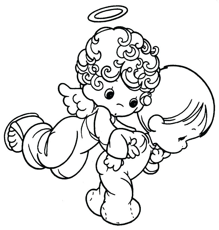 762x800 Precious Moments Animals Coloring Pages Precious Moments Angels