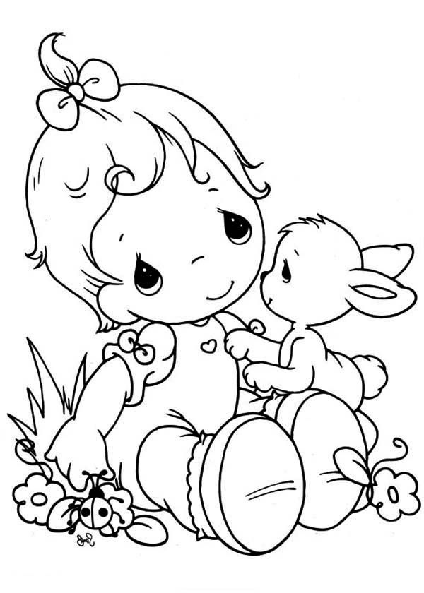 600x840 Precious Moments Coloring Pages New Precious Moments Animal