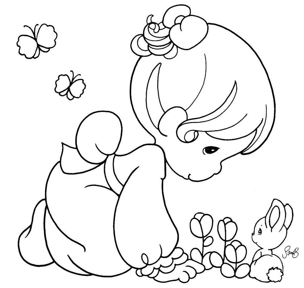 1034x978 Precious Moments Animal Coloring Pages Az Coloring Pages Precious