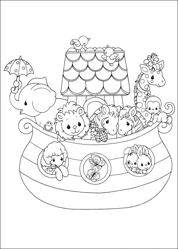 567x794 Kids N Coloring Pages Of Precious Moments