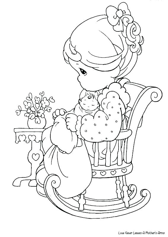 567x800 Precious Moment Coloring Pages Precious Moments Baby Coloring