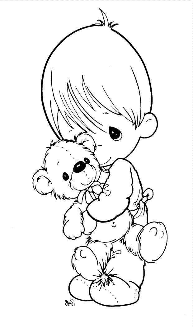620x1054 Precious Moments Coloring Book Pages