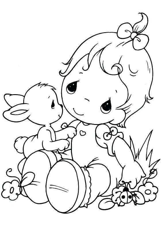 567x794 Precious Moments Coloring Page Precious Moments Baby Coloring