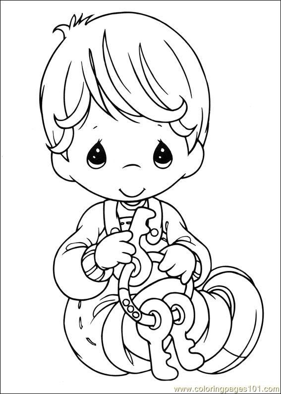 567x794 Best Coloring Pages Precious Moments Images