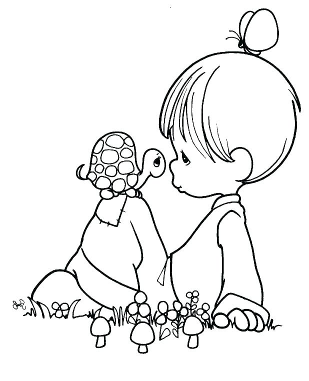618x762 Precious Moments Wedding Coloring Pages Precious Moments Baby