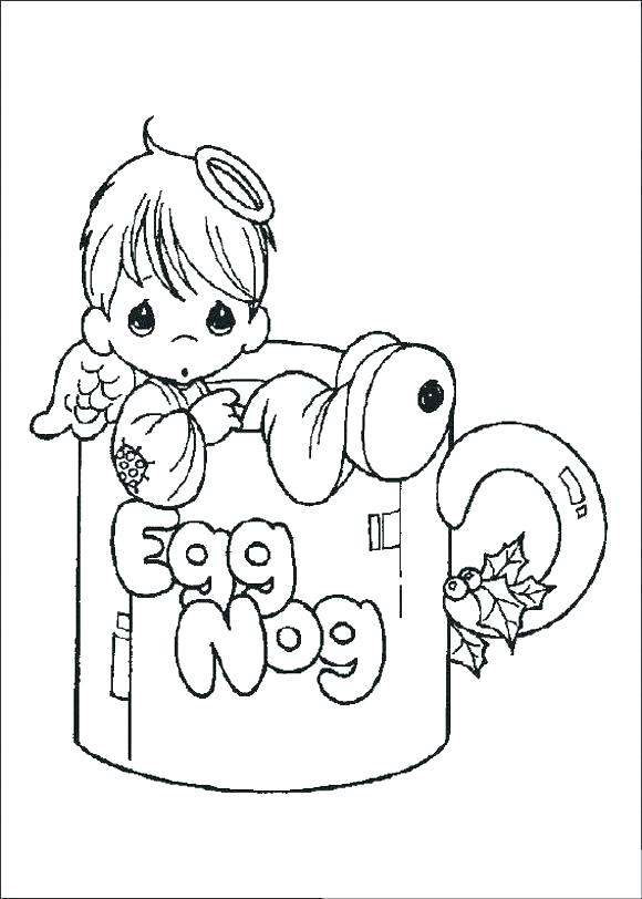 580x812 Cute Baby Coloring Pages Coloring Pages Baby Precious Moments Baby