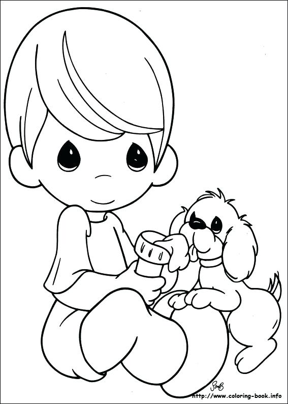 567x794 Precious Moments Baby Coloring Pages Boss Baby Coloring Page Free