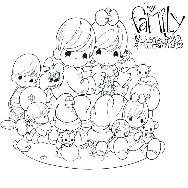 736x737 Baby Precious Moments Coloring Pages