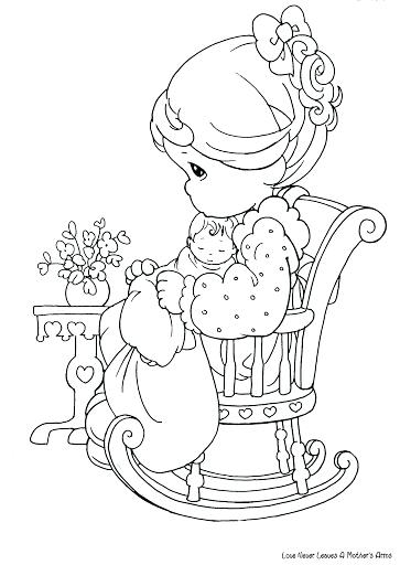363x512 Precious Moments Baby Coloring Pages