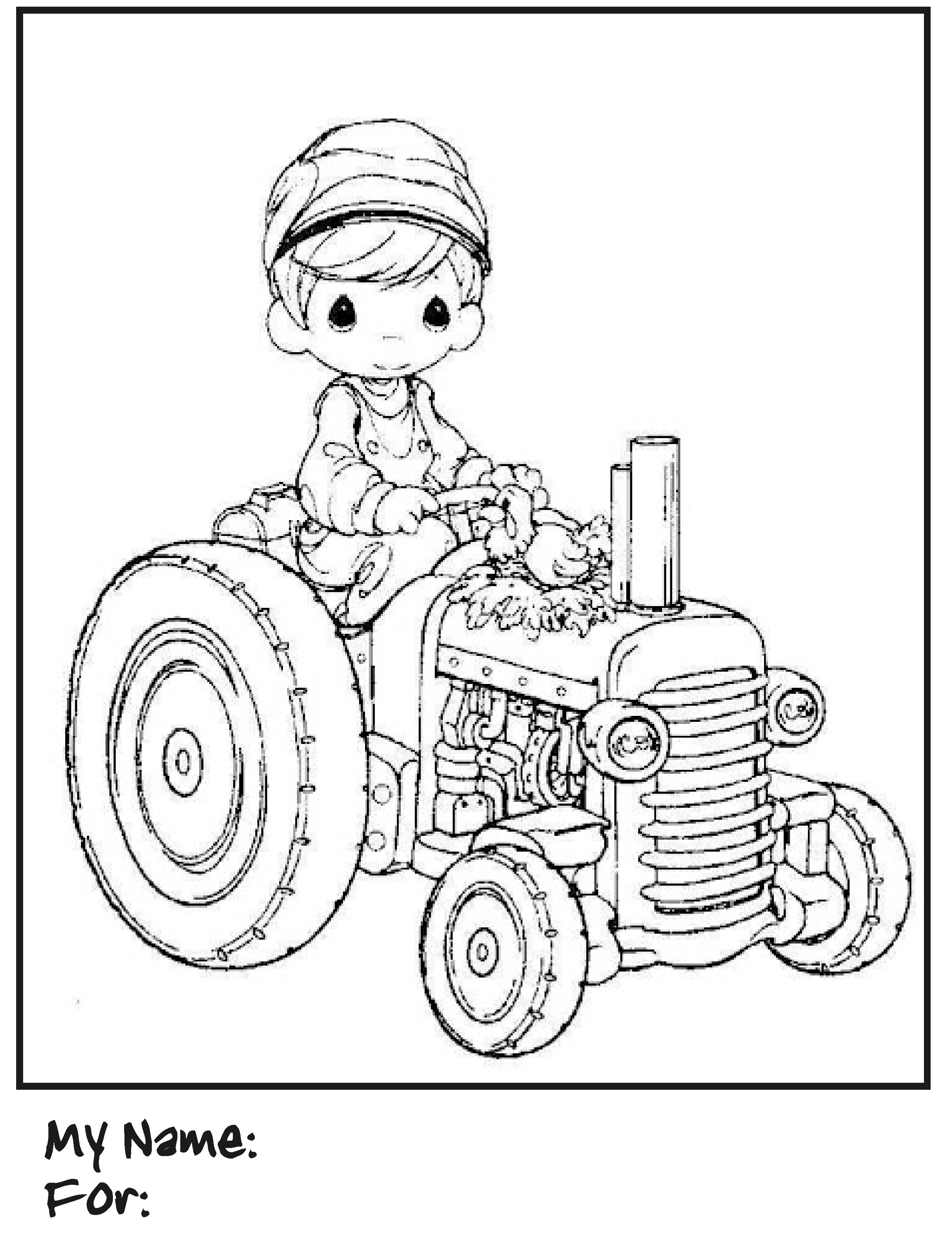Precious Moments Boy Coloring Pages At Getdrawings Com Free For