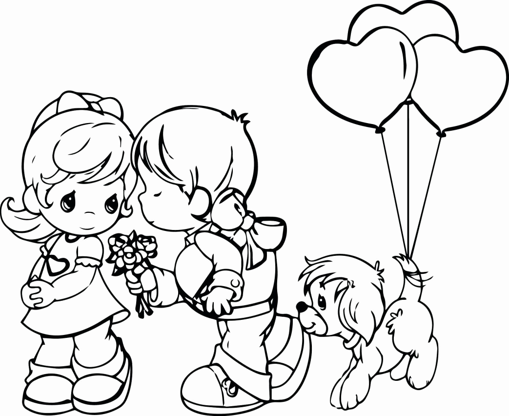 1043x852 Disney Christmas Precious Moments Christmas Coloring Pages Free