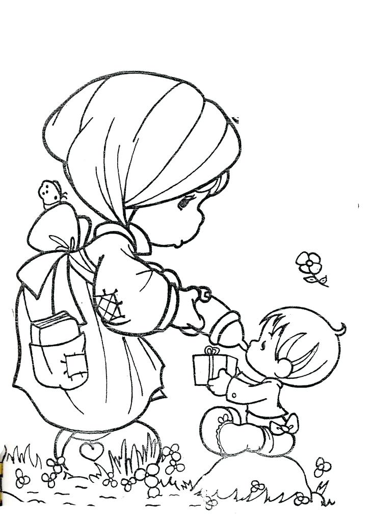 736x1016 Precious Moment Coloring Pages Precious Moments Coloring Pages