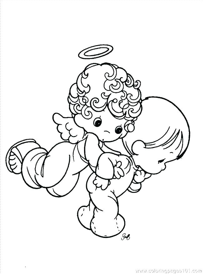 650x874 Precious Moments Angels Coloring Pages Coloring Page Precious