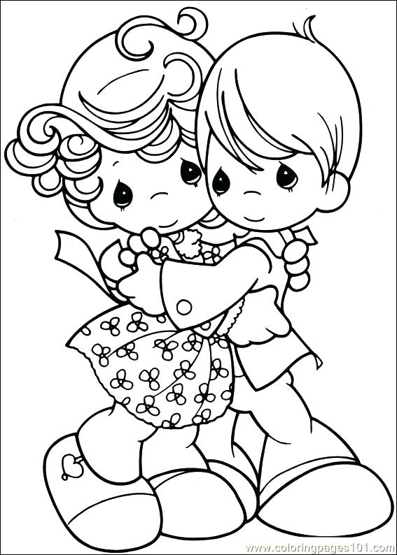 567x794 Precious Moments Christmas Coloring Pages Printable Coloring Free