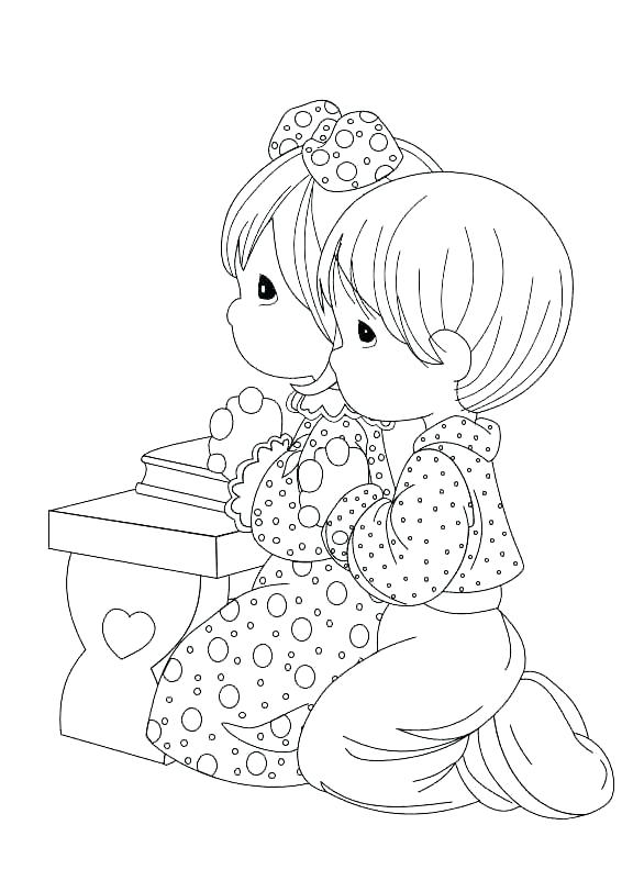 566x812 Precious Moments Coloring Books Changing A Diaper Free Coloring