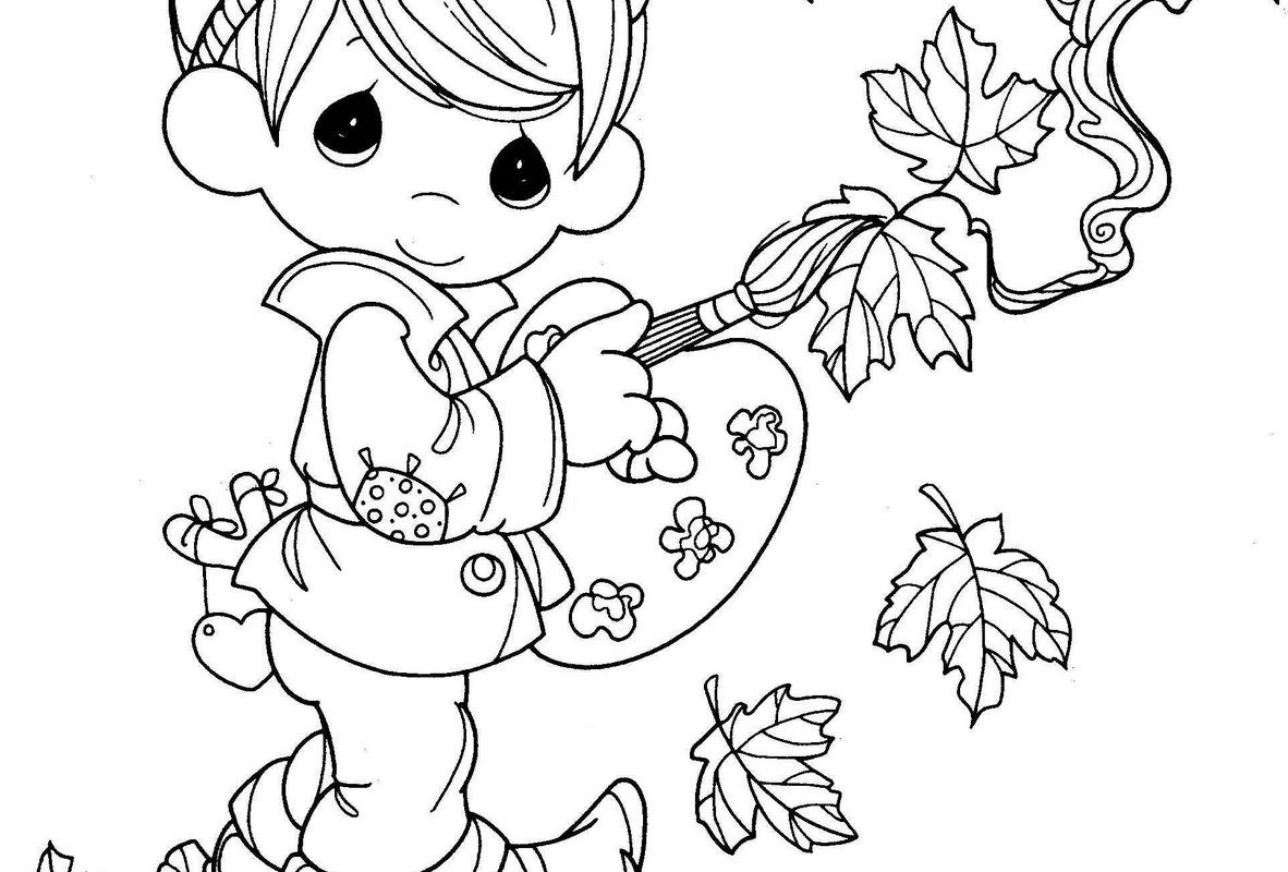 1182x800 Best Precious Moments Coloring Pages Images On Page Printable