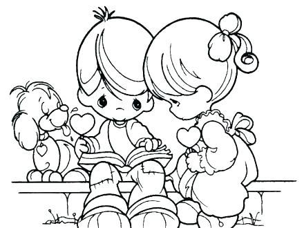 440x330 Precious Moments Angels Coloring Pages Precious Moments Angels