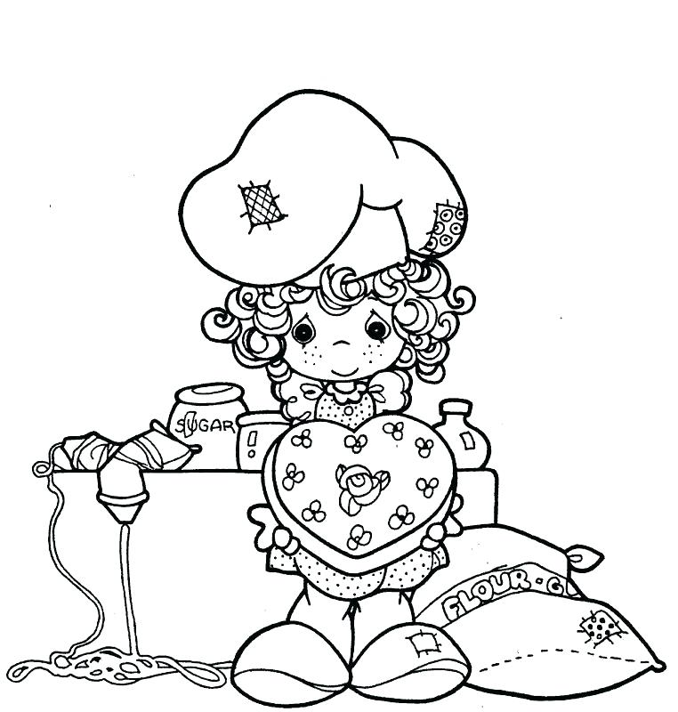 762x800 Precious Moments Animals Coloring Pages Free Printable Precious