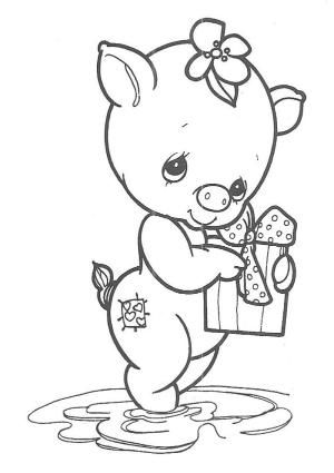 300x425 Precious Moments Coloring Pages
