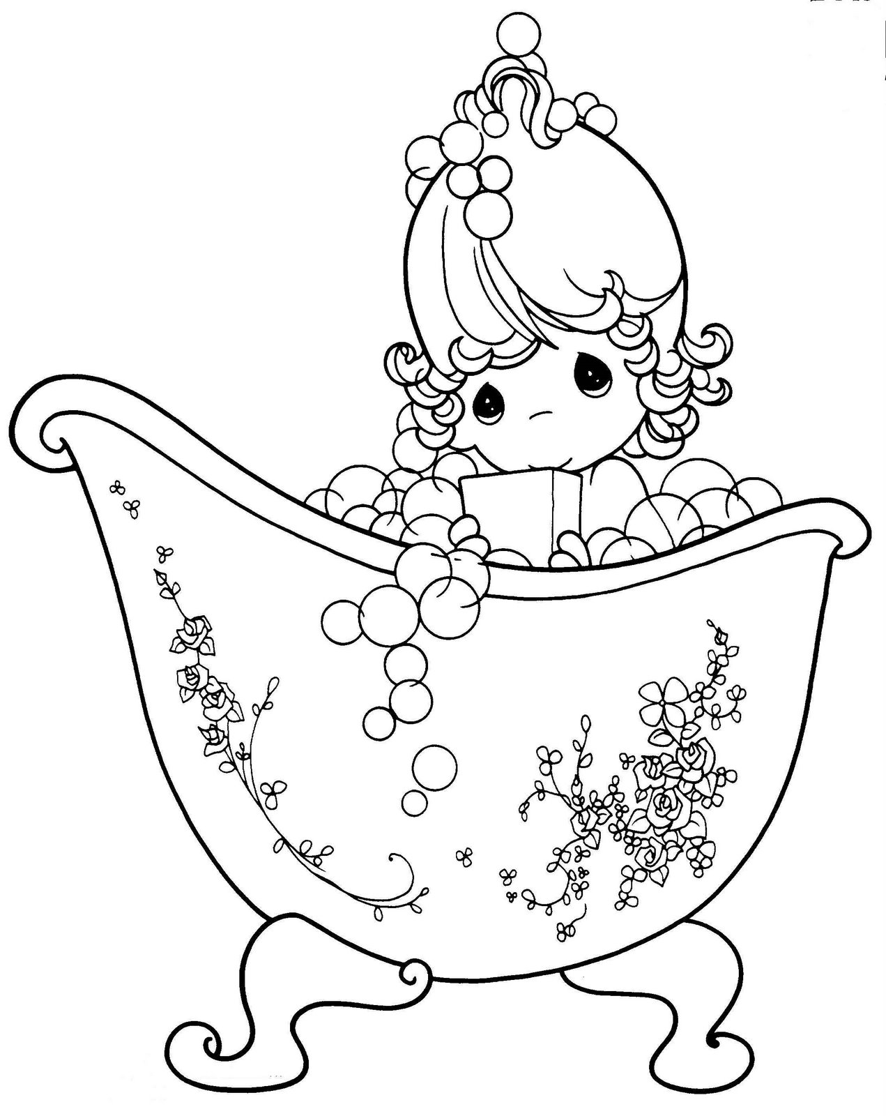 1271x1600 Precious Moments Coloring Pages Free Cartoons Coloring