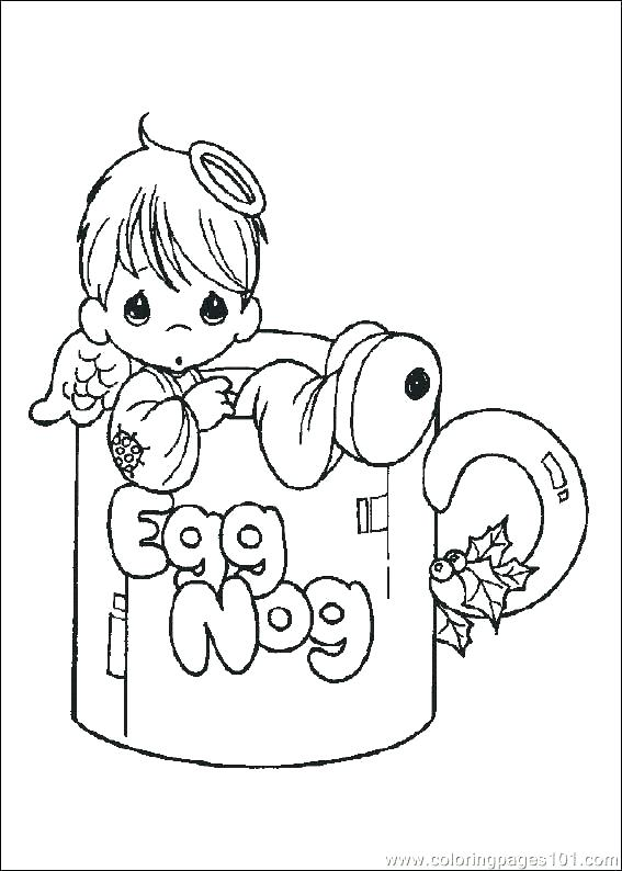 567x794 Free Precious Moments Coloring Pages Good Precious Moments Animals