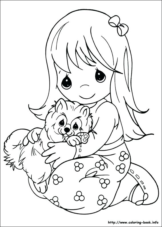 567x794 Free Printable Precious Moments Coloring Pages For Kids Moments
