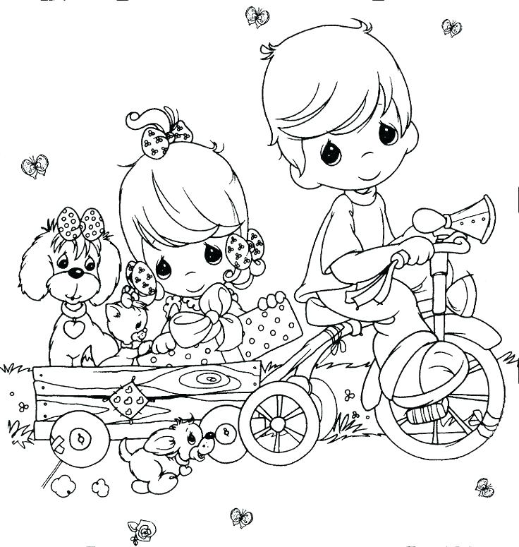 736x775 Free Printable Precious Moments Coloring Pages Precious Moments