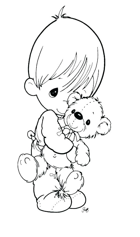 564x952 Baby Boy Coloring Pages Precious Moments Coloring Pages Fresh Baby